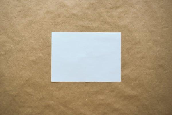 Witte envelop als voorlopige voorziening